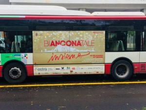 "Marchio K-All su Autobus ""Auguri Ancona! Bianconatale 2017"""
