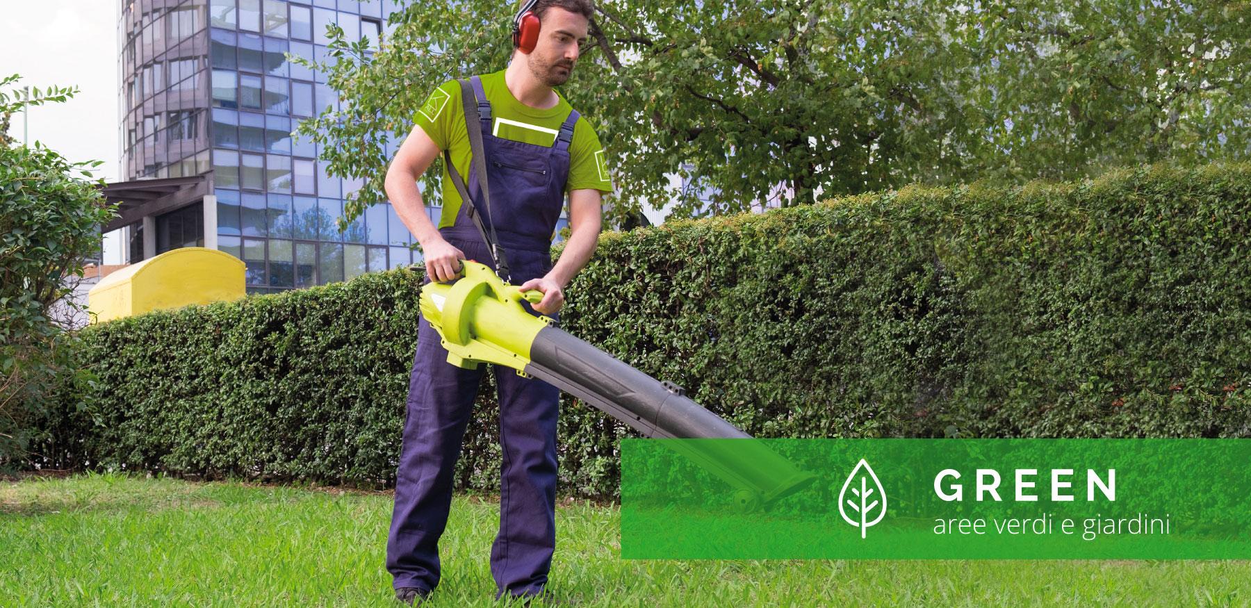 Slide Manutenzione, Gestione e Progettazione Aree verdi e Giardini | K-All