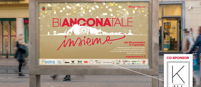 """Auguri Ancona! K-All co-sponsor di """"Bianconatale 2017"""", l'iniziativa natalizia della città marchigiana"""