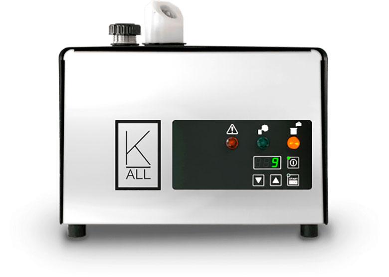 macchinario per sanificazione a perossido di idrogeno covid 19 K-Cube noleggio o vendita